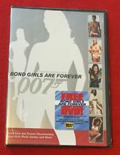 Bond Girls are Forever (DVD, Brand New!) Limited Edition James 007