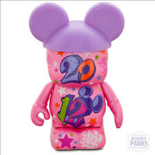 "Disney Parks Vinylmation 2012 Disney Parks Figure - Pink - 3"" NIB"