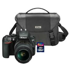 Nikon D3500 24.2MP DSLR Camera with 18-55mm Lens + 32GB Card and Camera Case
