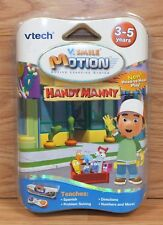 V Tech V.Smile Active Motion Learning System Handy Manny Game Cartridge Only