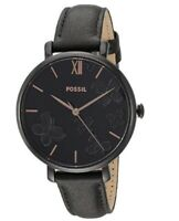 Fossil Jacqueline Quartz Movement Black Dial Ladies Watch ES4532
