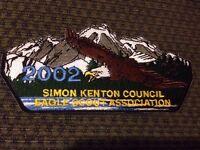 MINT CSP Simon Kenton Council SA-83 2002 Eagle Scout