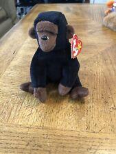 Ty Beanie Baby, Gorilla, Congo, PVC pellets