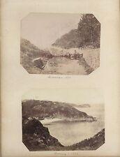 Guernesey Guernsey UKRoyaume-Uni 6 Photos Vintage albumine 1876
