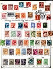 1¢ WONDER ~ NETHERLANDS CLASSICS M&U SMALL LOT ON PAGES ALL SHOWN HI CV ~ B812