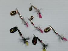 Jigs et spinnerbaits truite pour la pêche
