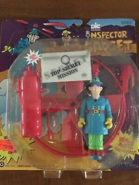 1992 Tiger Toys INSPECTOR GADGET CoPteR Action Figure NEW RARE