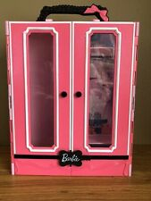 Mattel Barbie Fashion Doll Carrying Case pink and Black
