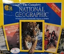 The Complete National Geographic: 111 Years (25 CD ROM Set) F6068