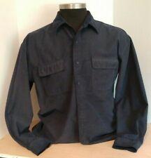 KNIGHTSBRIDGE Casual Cowboy Shirt Men's Button Long Sleeve Size XL