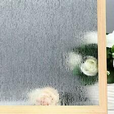 Static Window Films Cling Rain Glass Removable Decorative Privacy Anti-UV Heat