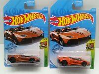 2018 Hot Wheels Super Treasure Hunt LAMBORGHINI AVENTADOR J. With Bonus Car (C2)