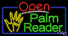 "New ""Open Palm Reader"" 32x17 Solid/Animated Led Sign W/Custom Options 25544"
