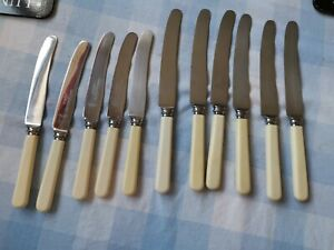 Antique Knives Stainless Steel Sheffield Smith Seymour Ltd