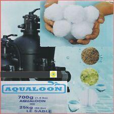 TAB Aqualoon 3 x 700gr. neuartiges Filtermaterial ersetzt Filtersand Filterglas