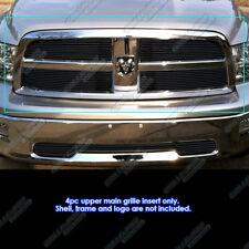 Fits 2009-2012 Dodge Ram 1500 Black Billet Grille Grill Insert