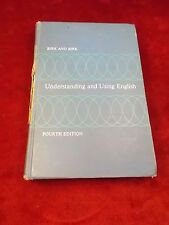 "OLD VTG 1965 REPRINT BOOK ""UNDERSTANDING & USING ENGLISH"", BIRK & BIRK, 4th Ed"