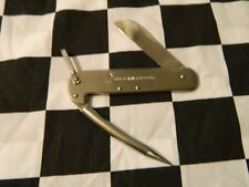 VINTAGE SAILOR KNOT ROPE STAINLESS STEEL KNIFE MADE BY TETO MFG