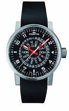 Fortis Men's 623.10.51 SI.01 Spacematic Classic Automatic Black Rubber Watch