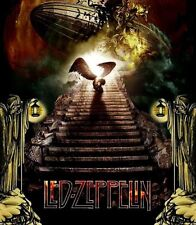 Led Zeppelin Stairway To Heaven Awesome Poster Sticker or Magnet