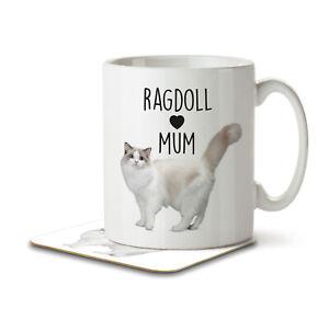 Ragdoll Mum - Mug and Coaster by Inky Penguin