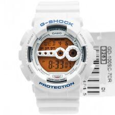 Casio G-Shock GD-100SC-7 Original Crazy Colors White Mens Watch 200M GD-100