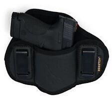 Soft IWB Dual Clip Pancake Gun Holster for Smith & Wesson M&P Shield 9mm/40 M2.0