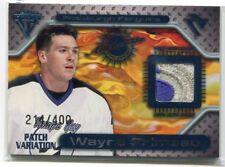 2000-01 Titanium Game Gear Patches 139 Wayne Primeau Patch 214/400