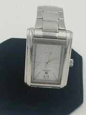 Timex indiglo mens White Face nice watch new battery free fast shipping