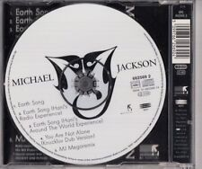 MICHAEL JACKSON Earth Song 4 TRACK AUSTRIA CD MAXI W LONG MJ MEGAMIX