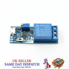 5V -30V Timer control module Witch Micro USB Power Trigger Delay Relay