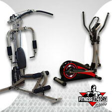 Best Fitness Sportsman Gym and Cross Trainer Combo - BFMG10CT1