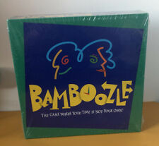 Factory Sealed Vintage 1997 Bamboozle Board Game