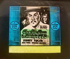 Charlie Chan in Honolulu Movie Original 1938 Glass Slide Warner Oland