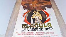 BLACULA LE VAMPIRE NOIR  ! affiche cinema  1972