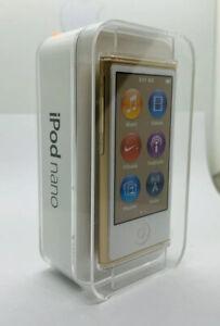 Apple iPod Nano 7. 0.2oz Generation Gold Bronze 16GB Sealed Collectors 7th New