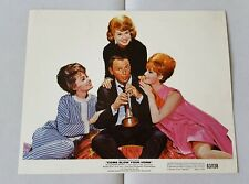 1963 Come Blow Your Horn movie lot Lobby Card 8x10 color photos Frank Sinatra