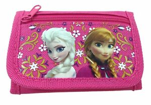 Disney Frozen wallet Pink Children Boys Girls Wallet Kids Cartoon Coin Purse