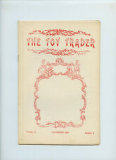 December 1959 The Toy Trader Magazine Doll Marks Dictionary Rare China Head