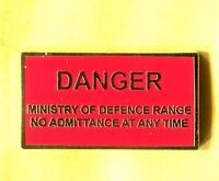 new design british army Enamel badge udr ministry of defence Infantry Military