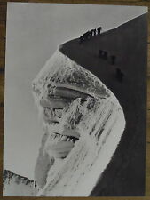 Photo Biancograt,Col de la Bernina,Grisons,Suisse,Engadine,1941   25 x 35 cm