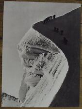 Photo Biancograt,Col de la Bernina,Grisons,Suisse,Engadine,1941   25 x 35 cm
