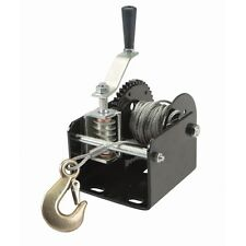 2000 lb Capacity Worm Gear Portable or Mountable Hand Winch Trucks Trailers etc