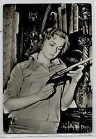 LORETTA DE LUCA Cinema Star Attrice 1960 ITALY amazing Real Photo PC Vera foto 2