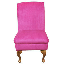 Bedroom Chair Dining Seat in a Rich Pink Azzurro Fabric REDUCED PRICE
