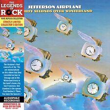 JEFFERSON AIRPLANE THIRTY SECONDS OVER WINTERLAND CD VINYL RÉPLICA IMPORT + OBI