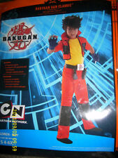 HALLOWEEN COSTUME BAKUGAN DAN CLASSIC KIDS CHILDS CHILDRENS