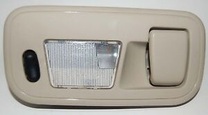 1999-2003 Ford Windstar Courtesy Light Hanger Tan  3rd Row Left Side Dome Lightw