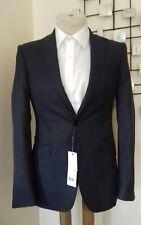 Grape/Grey Farley Birds Slim Suit Jacket/Blazer Kin John Lewis BNWT  38 Regular