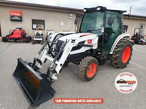 2020 BOBCAT CT5558 TRACTOR W/ LOADER, CAB, HEAT/AC, 4X4, 3RD FUNCTION, 54 HOURS!